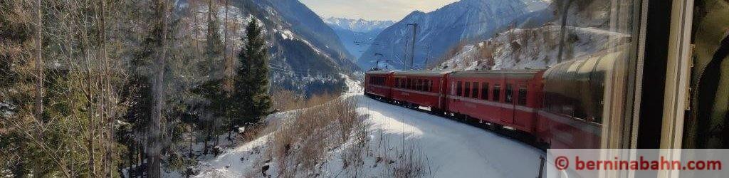 Berninabahn im Modell 1:87